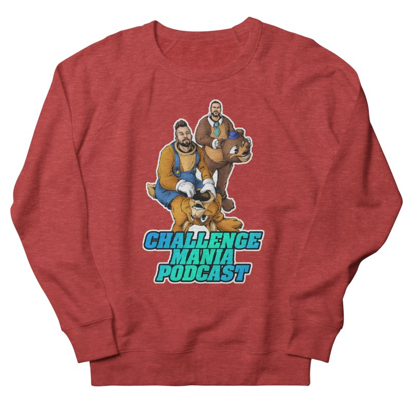 Character Lunch Break Men's French Terry Sweatshirt by Challenge Mania Shop