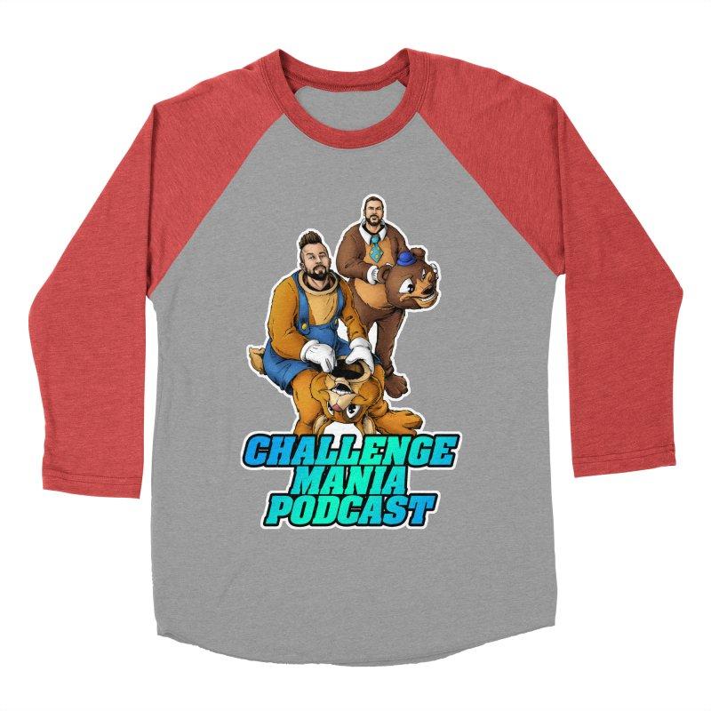 Character Lunch Break Men's Baseball Triblend Longsleeve T-Shirt by Challenge Mania Shop