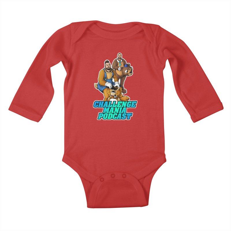 Character Lunch Break Kids Baby Longsleeve Bodysuit by Challenge Mania Shop