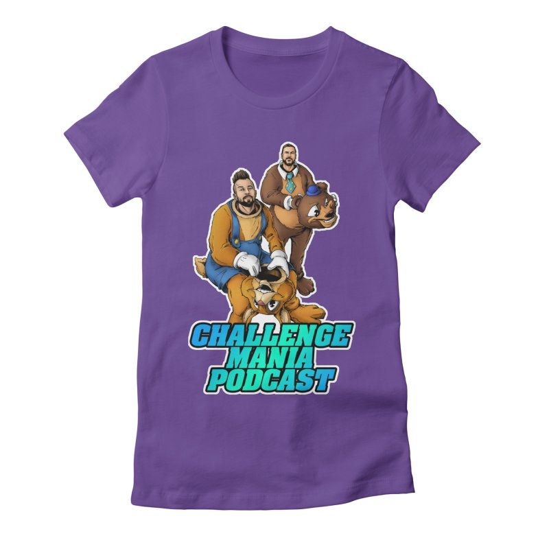 Character Lunch Break Women's Fitted T-Shirt by Challenge Mania Shop