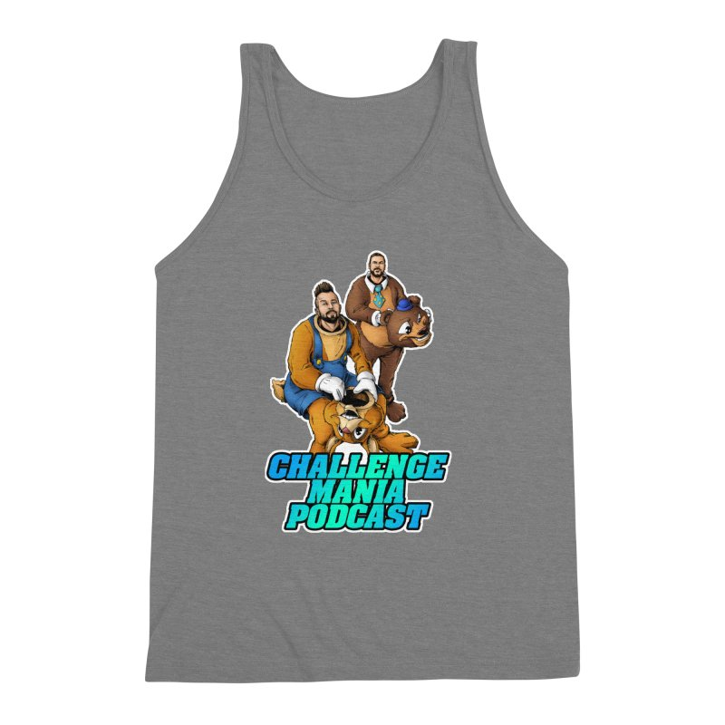 Character Lunch Break Men's Triblend Tank by Challenge Mania Shop