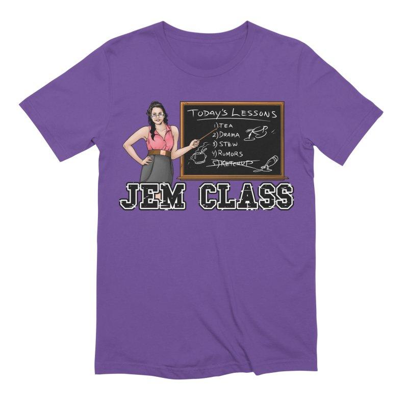 Jem Class Jemmye Men's Extra Soft T-Shirt by Challenge Mania Shop