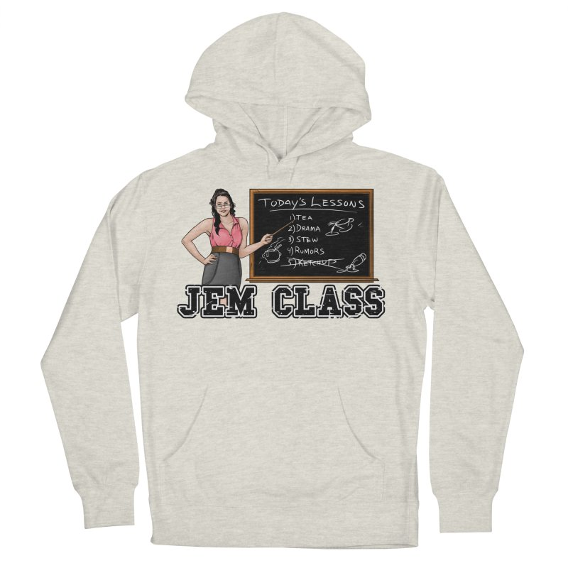 Jem Class Jemmye Women's French Terry Pullover Hoody by Challenge Mania Shop