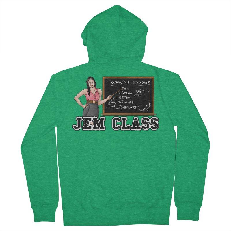 Jem Class Jemmye Men's Zip-Up Hoody by Challenge Mania Shop