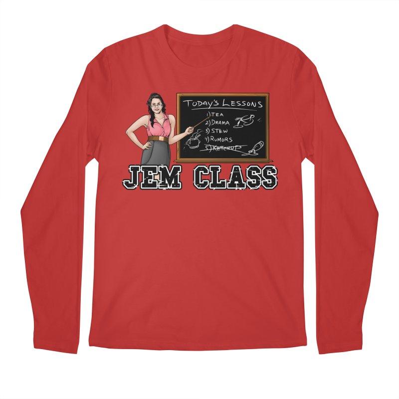 Jem Class Jemmye Men's Regular Longsleeve T-Shirt by Challenge Mania Shop