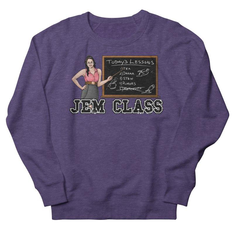 Jem Class Jemmye Men's French Terry Sweatshirt by Challenge Mania Shop