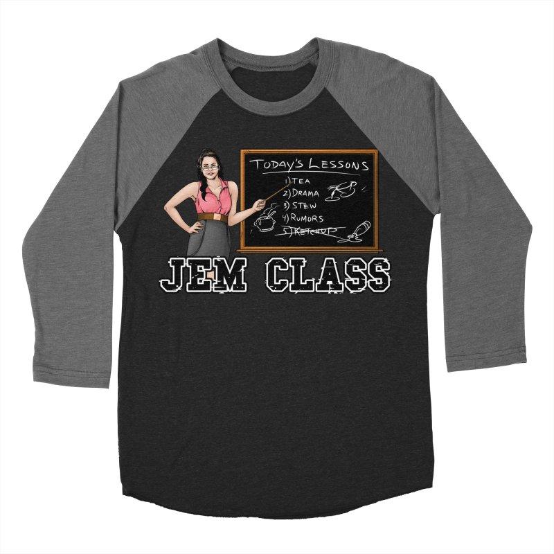 Jem Class Jemmye Men's Baseball Triblend Longsleeve T-Shirt by Challenge Mania Shop