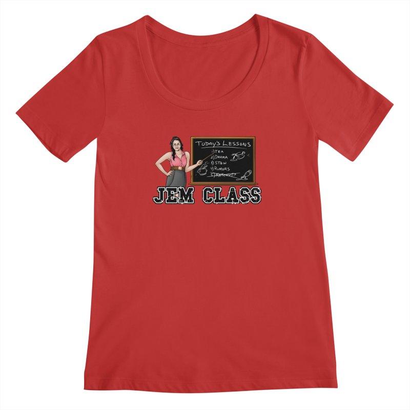 Jem Class Jemmye Women's Regular Scoop Neck by Challenge Mania Shop
