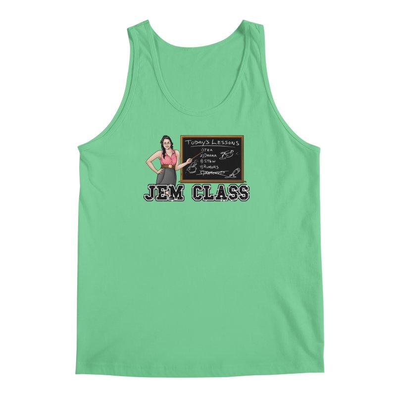 Jem Class Jemmye Men's Regular Tank by Challenge Mania Shop