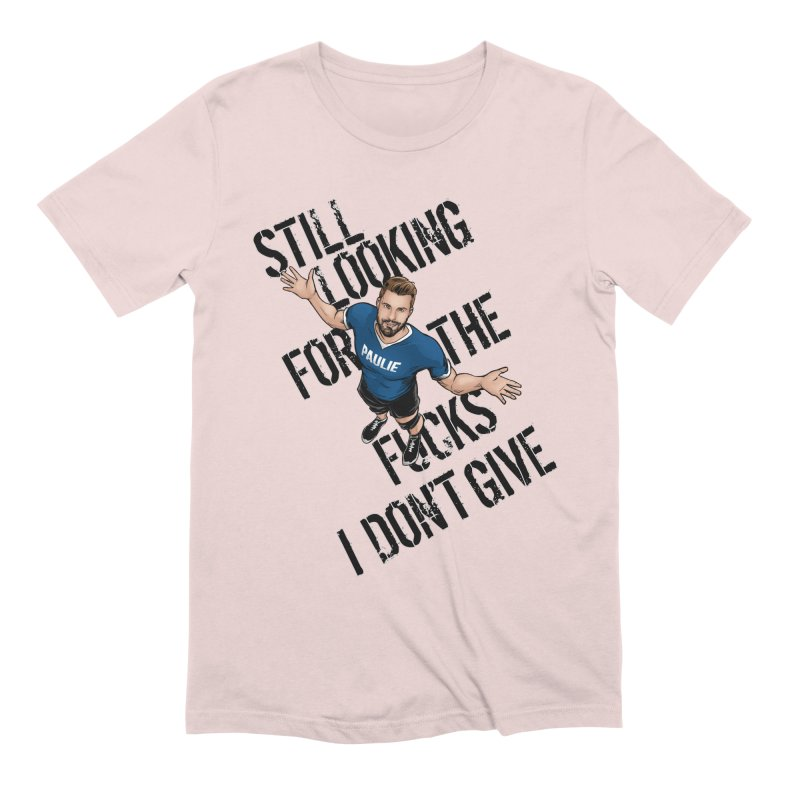 Paulie Still Looking Men's Extra Soft T-Shirt by Challenge Mania Shop