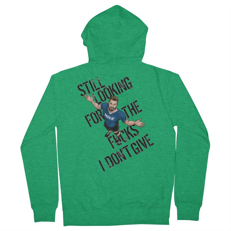 Paulie Still Looking Women's French Terry Zip-Up Hoody by Challenge Mania Shop