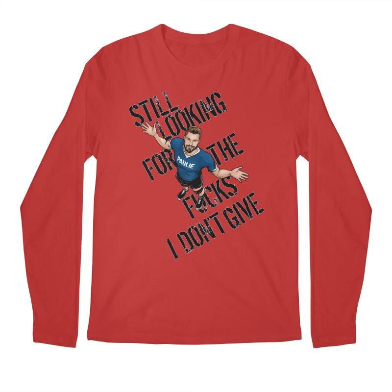 Paulie Still Looking Men's Regular Longsleeve T-Shirt by Challenge Mania Shop