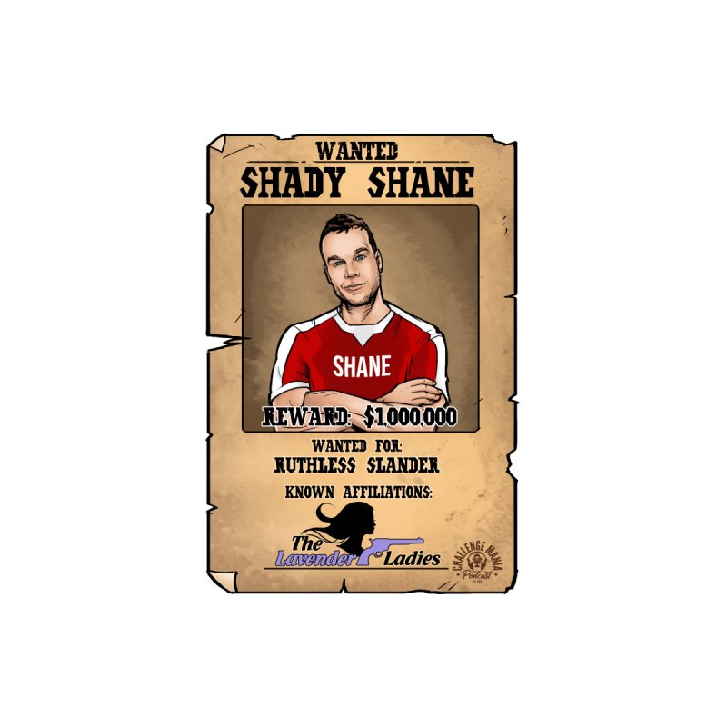 Shady Shane Wanted Men's V-Neck by Challenge Mania Shop