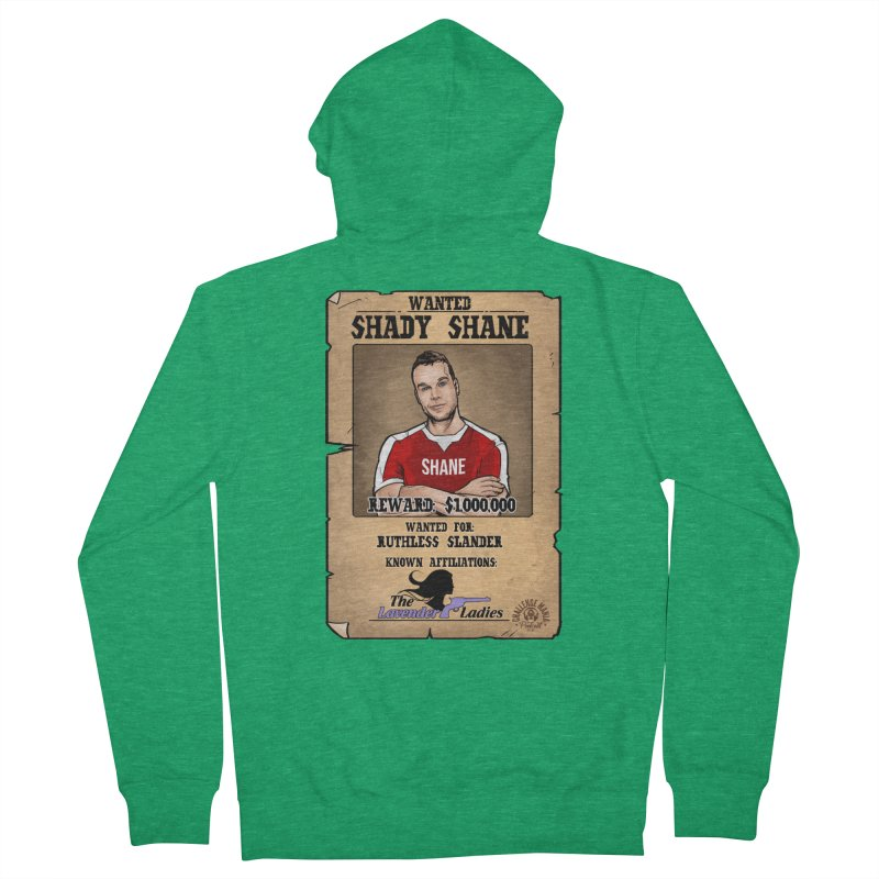 Shady Shane Wanted Men's Zip-Up Hoody by Challenge Mania Shop