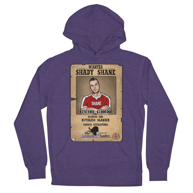 Shady Shane Wanted Men's French Terry Pullover Hoody by Challenge Mania Shop