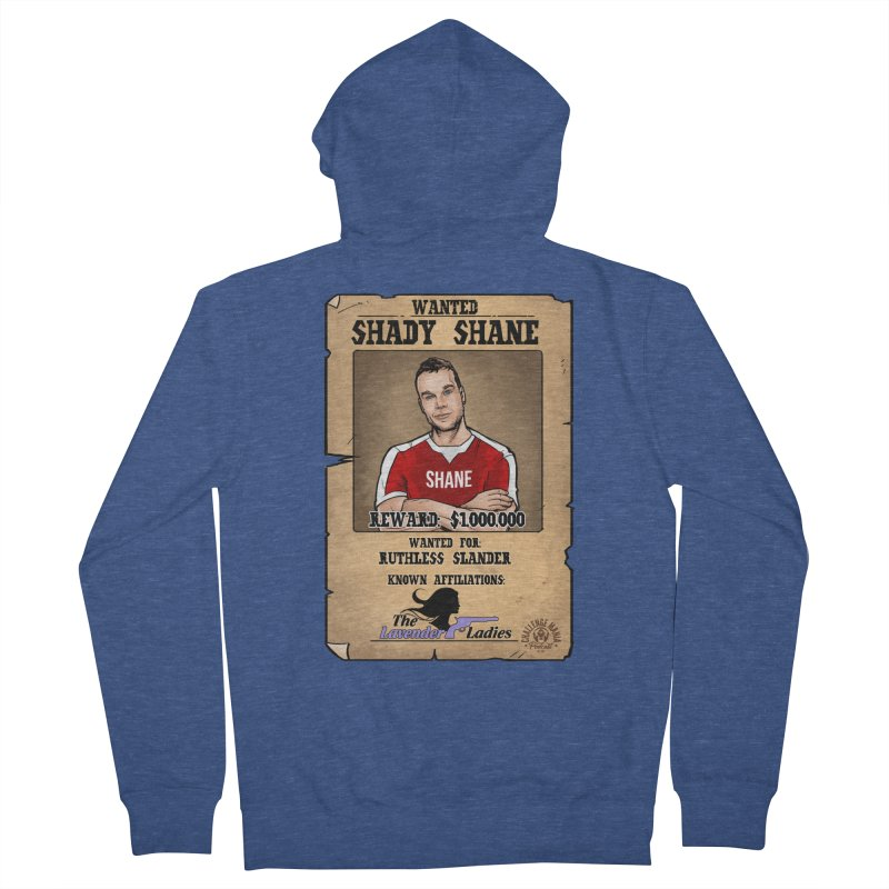 Shady Shane Wanted Women's French Terry Zip-Up Hoody by Challenge Mania Shop