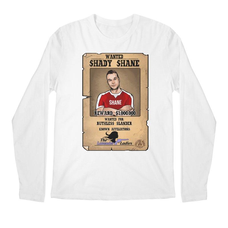 Shady Shane Wanted Men's Regular Longsleeve T-Shirt by Challenge Mania Shop
