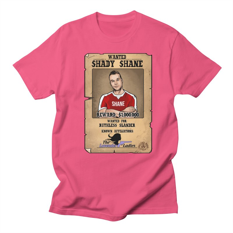 Shady Shane Wanted Men's Regular T-Shirt by Challenge Mania Shop