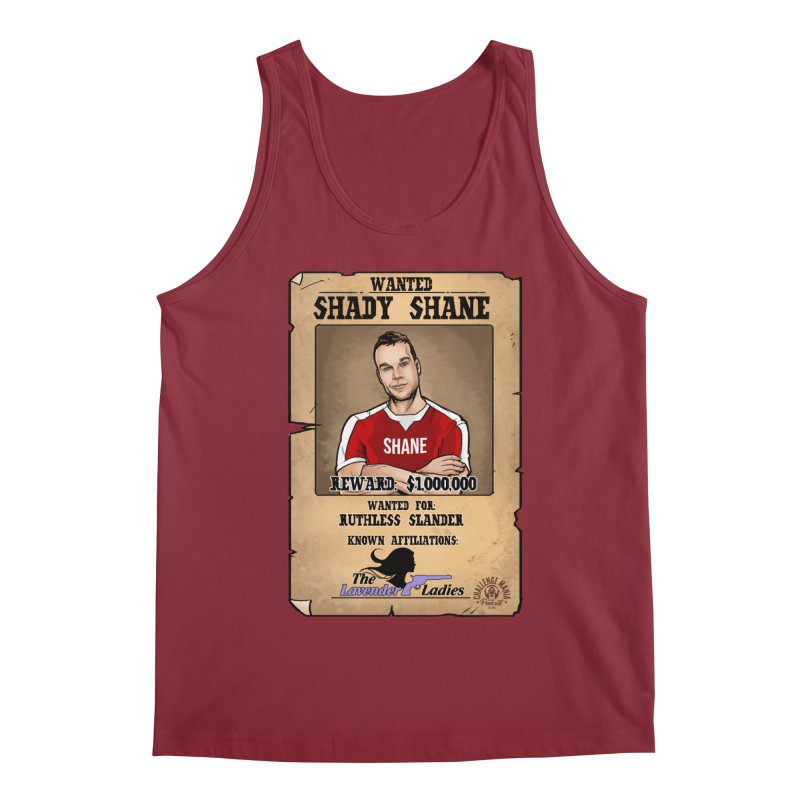 Shady Shane Wanted Men's Tank by Challenge Mania Shop