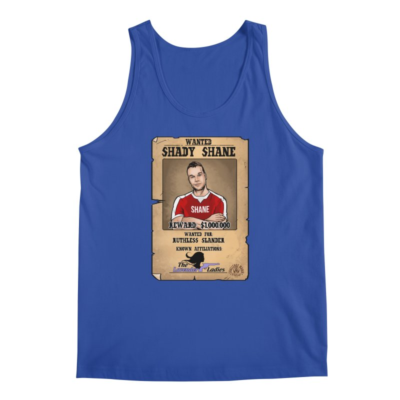 Shady Shane Wanted Men's Regular Tank by Challenge Mania Shop