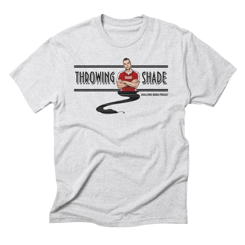 Shane Throwing Shade Men's Triblend T-Shirt by Challenge Mania Shop