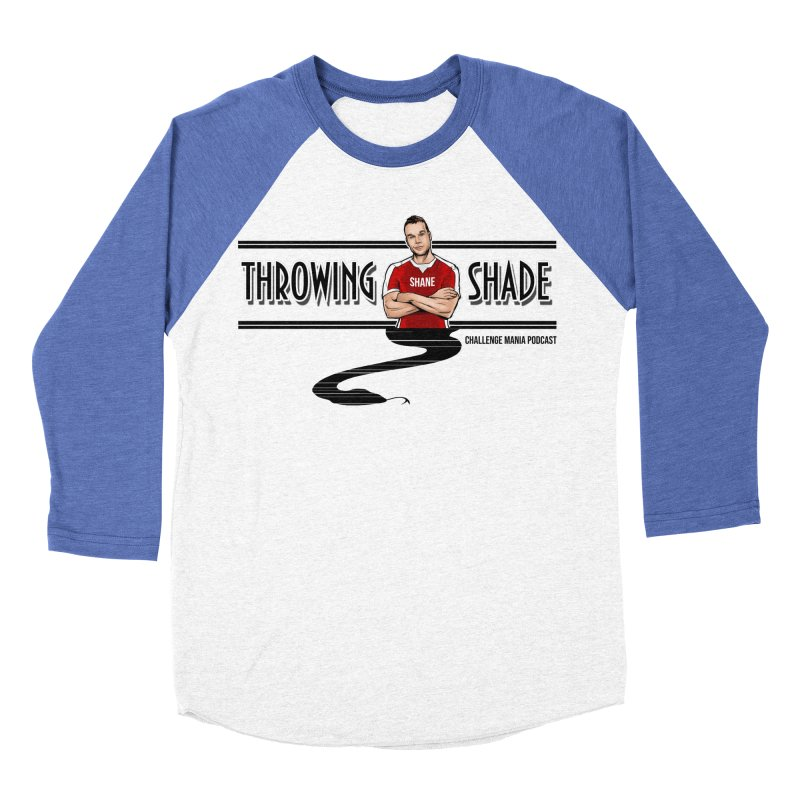 Shane Throwing Shade Men's Baseball Triblend Longsleeve T-Shirt by Challenge Mania Shop