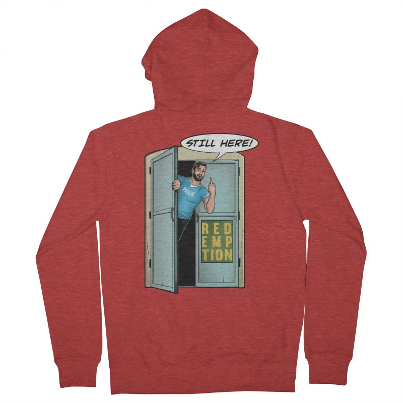 Paulie Still Here Men's French Terry Zip-Up Hoody by Challenge Mania Shop