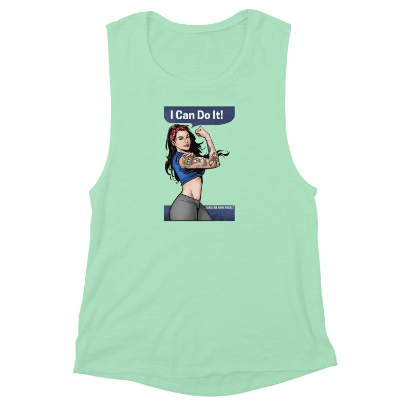 Kailah Can Do It Women's Muscle Tank by Challenge Mania Shop