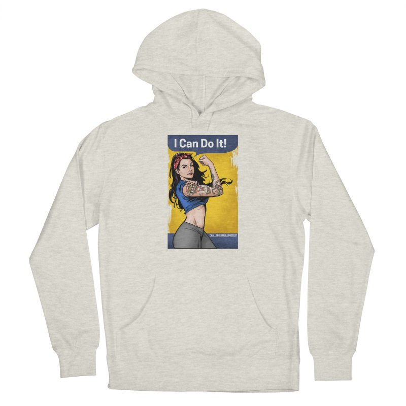 Kailah Can Do It (Yellow Background) Men's Pullover Hoody by Challenge Mania Shop