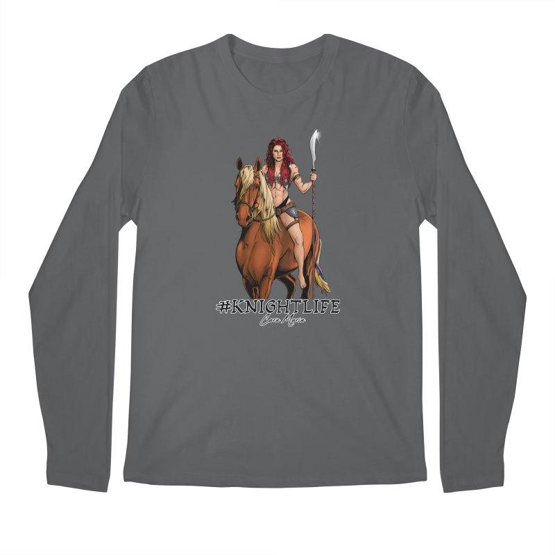 Cara Knight Life Men's Longsleeve T-Shirt by Challenge Mania Shop