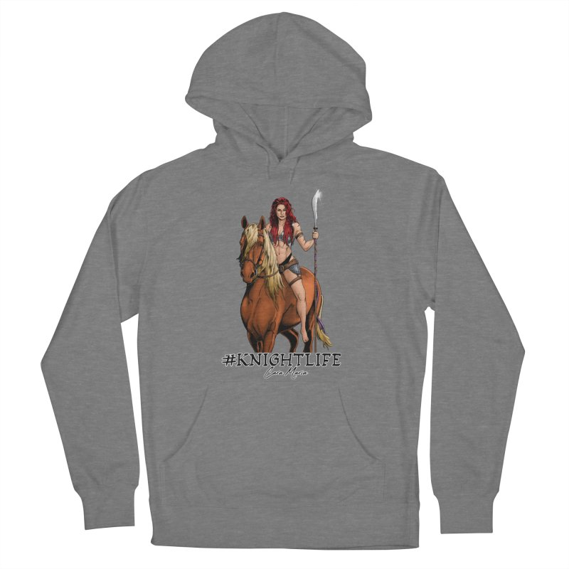 Cara Knight Life Women's French Terry Pullover Hoody by Challenge Mania Shop