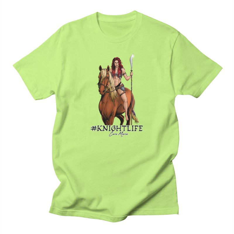 Cara Knight Life Men's T-Shirt by Challenge Mania Shop