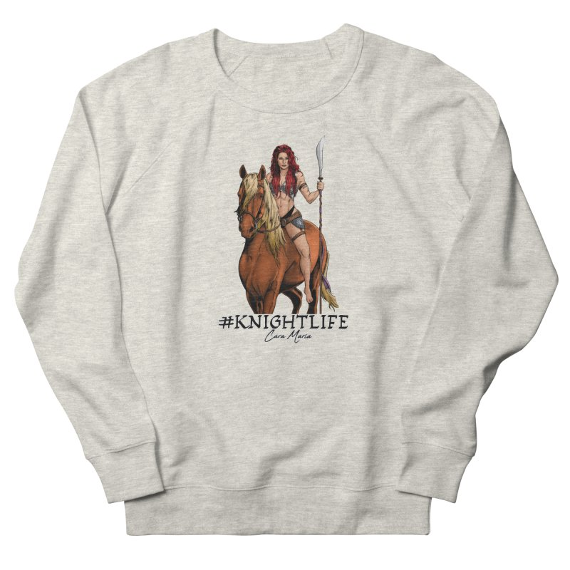 Cara Knight Life Women's French Terry Sweatshirt by Challenge Mania Shop