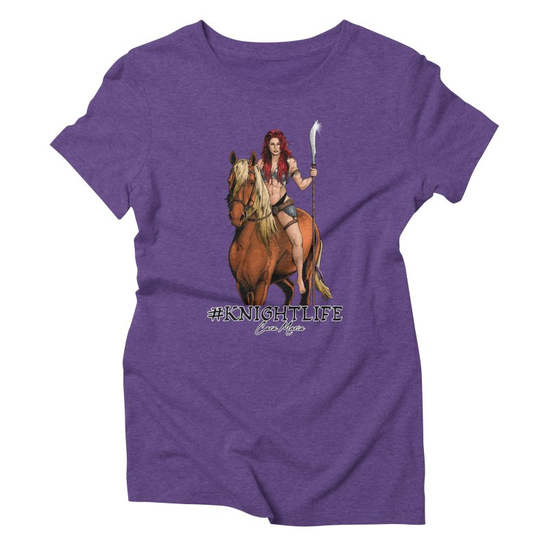 Cara Knight Life Women's Triblend T-Shirt by Challenge Mania Shop