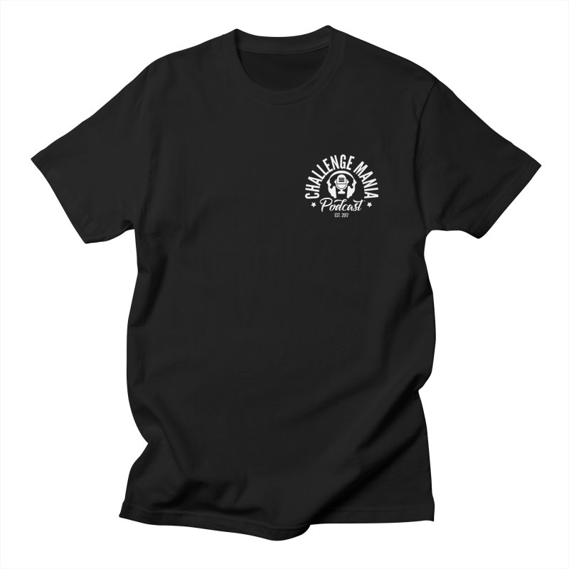 Podcast Logo Small Men's T-Shirt by Challenge Mania Shop
