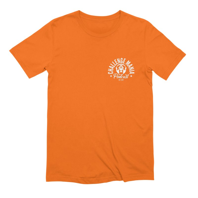 Podcast Logo Small Men's Extra Soft T-Shirt by Challenge Mania Shop