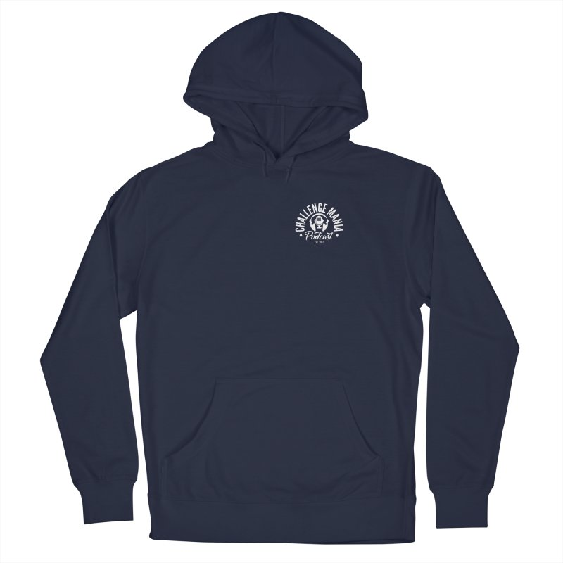 Podcast Logo Small Men's Pullover Hoody by Challenge Mania Shop