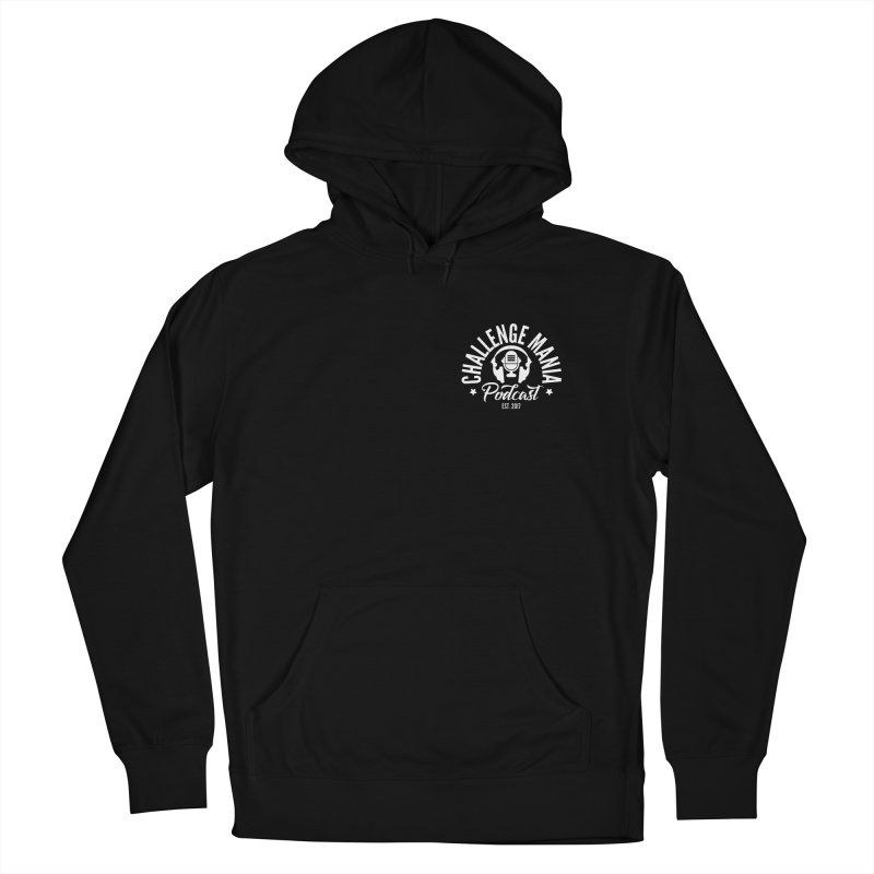 Podcast Logo Small Women's French Terry Pullover Hoody by Challenge Mania Shop