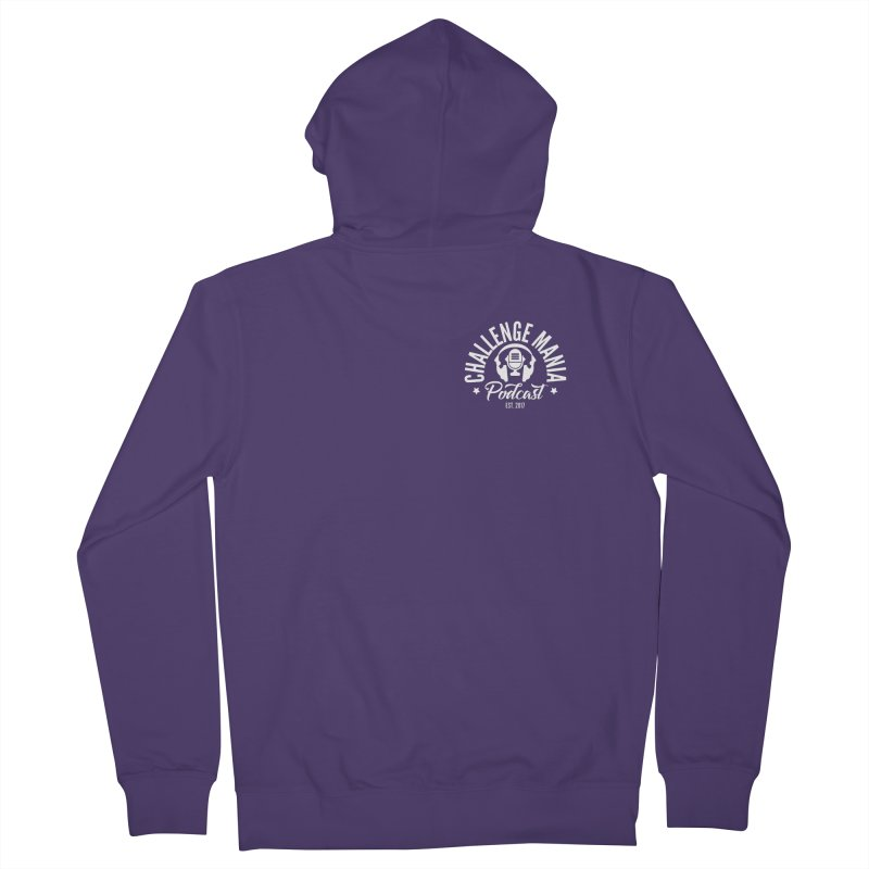 Podcast Logo Small Women's French Terry Zip-Up Hoody by Challenge Mania Shop