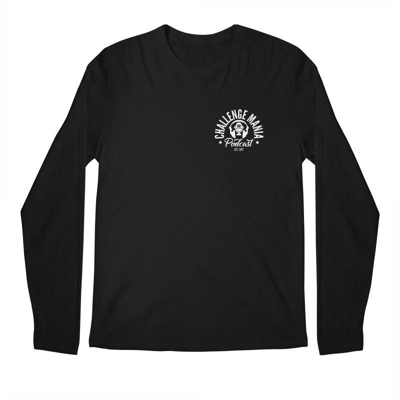 Podcast Logo Small Men's Regular Longsleeve T-Shirt by Challenge Mania Shop