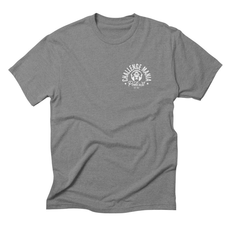 Podcast Logo Small Men's Triblend T-Shirt by Challenge Mania Shop