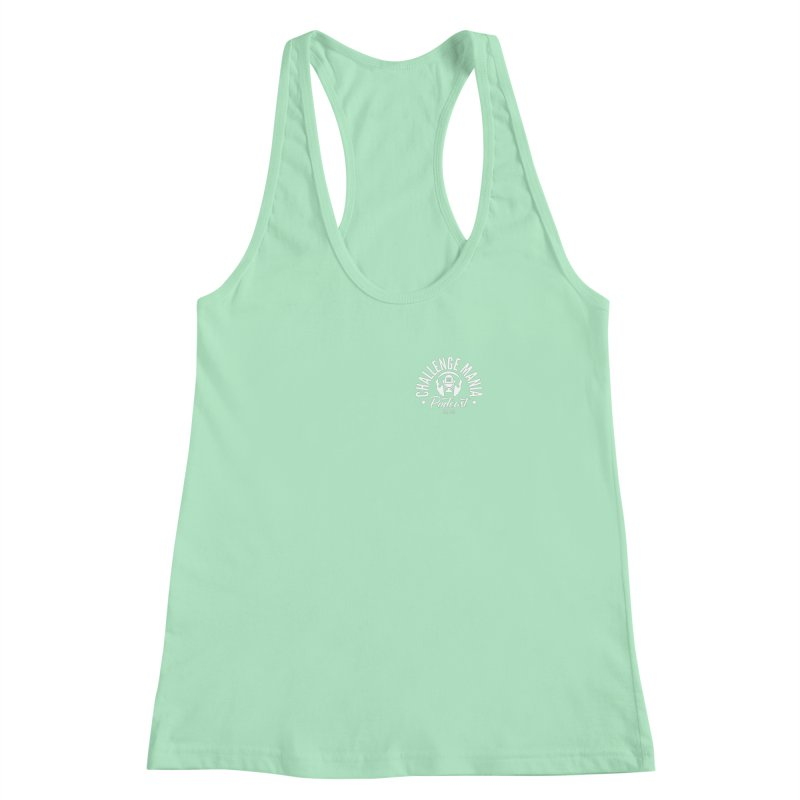 Podcast Logo Small Women's Racerback Tank by Challenge Mania Shop