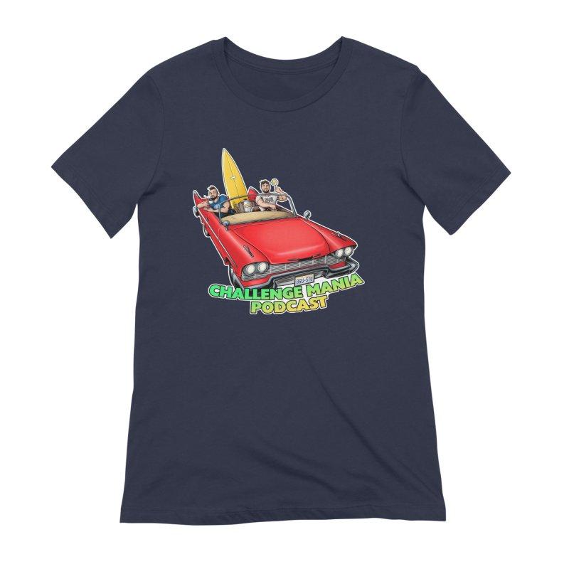 West Coast Mania Women's T-Shirt by Challenge Mania Shop