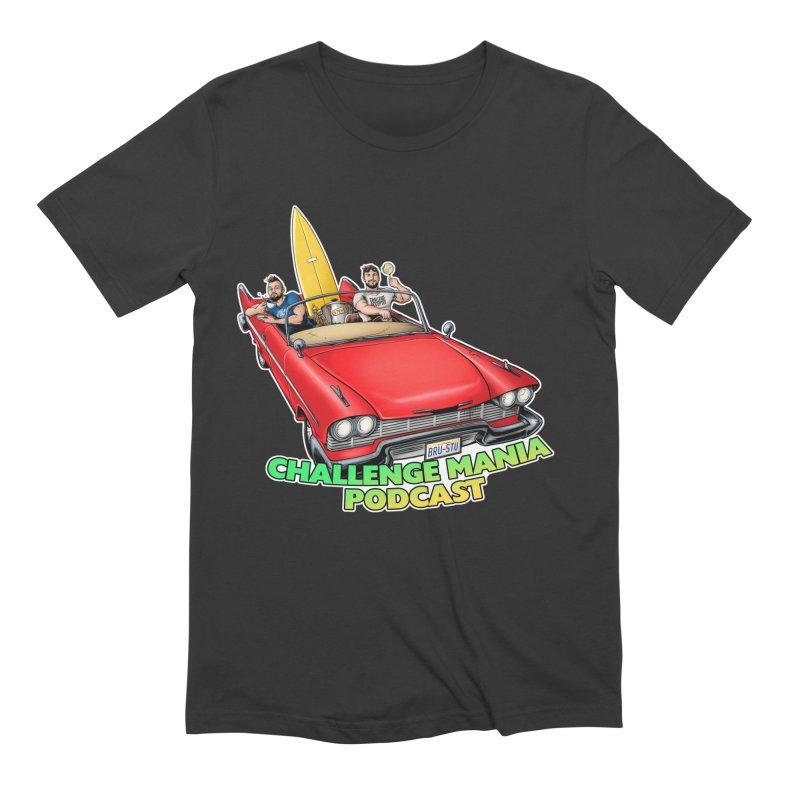 West Coast Mania Men's T-Shirt by Challenge Mania Shop