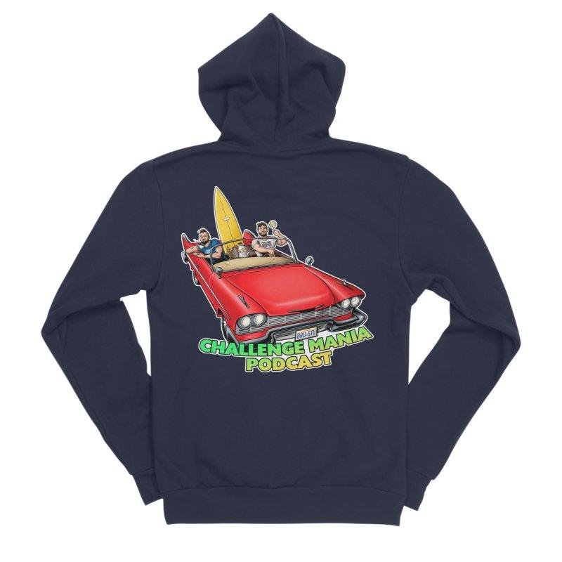 West Coast Mania Men's Sponge Fleece Zip-Up Hoody by Challenge Mania Shop