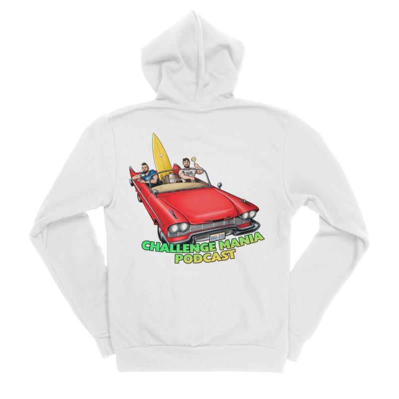 West Coast Mania Women's Sponge Fleece Zip-Up Hoody by Challenge Mania Shop