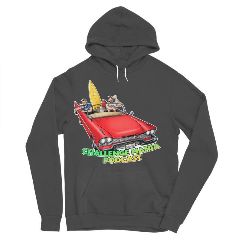 West Coast Mania Men's Sponge Fleece Pullover Hoody by Challenge Mania Shop