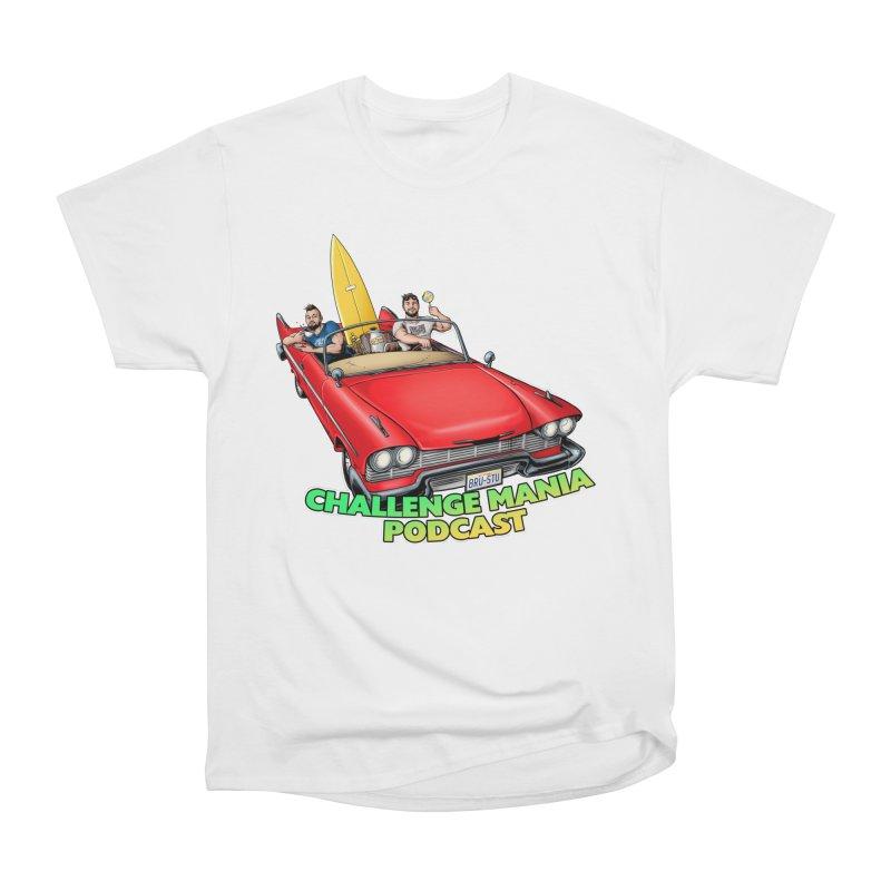 West Coast Mania Men's Heavyweight T-Shirt by Challenge Mania Shop