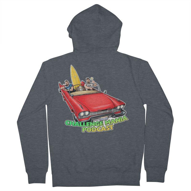 West Coast Mania Men's Zip-Up Hoody by Challenge Mania Shop
