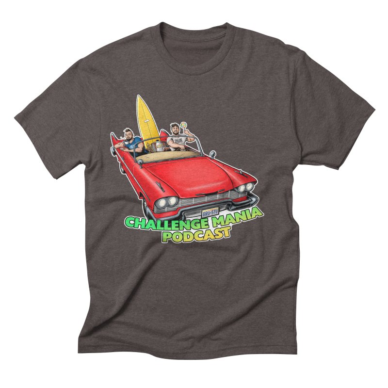 West Coast Mania Men's Triblend T-Shirt by Challenge Mania Shop